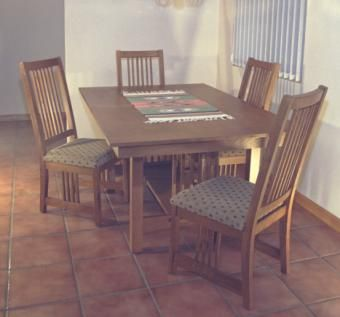 Custom Made Mission Dining Set