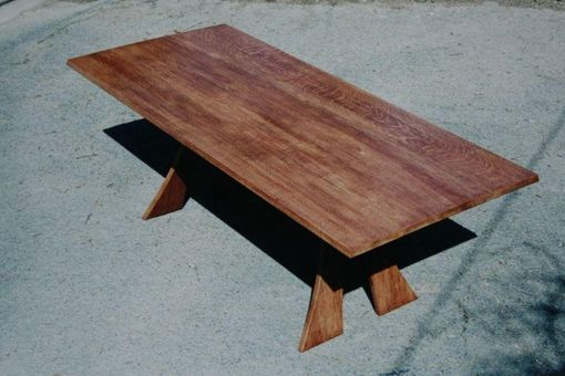 Custom Made White Oak Dining Table