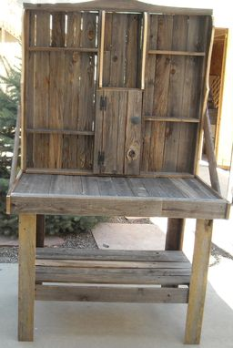 Custom Made Barnwood Furniture