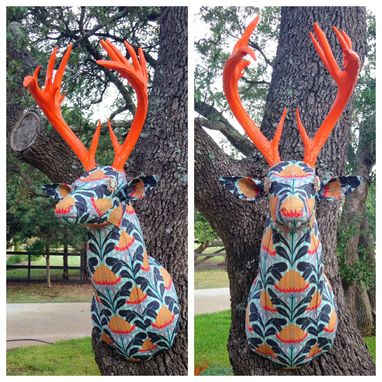 Custom Made Sloan: Upholstered  Whitetail Deer Replica