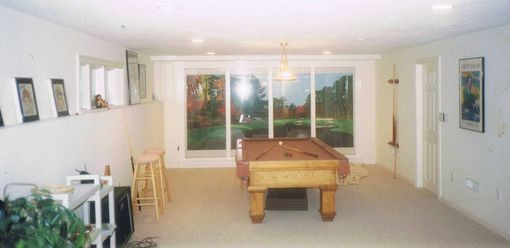 Custom Made Large Picture Frames For Basement Gaming Room