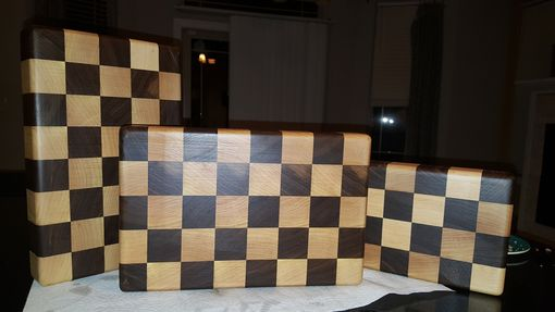Custom Made End Grain Butcher Blocks