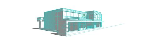 Custom Made Architectural Modeling- Volume Less Than 300 Cubic Inches