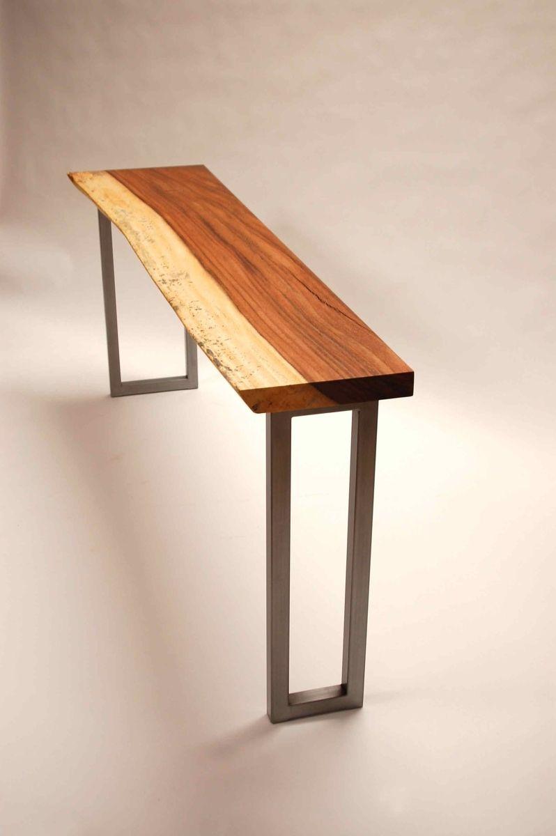 Handmade acacia console table by cb studios custommade custom made acacia console table geotapseo Choice Image