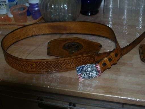 Custom Made Kilt Belt That Will Fit Most Any Buckle. (Buckle Shown Not Included)