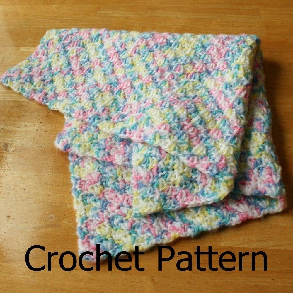 Easy Crochet Blanket Pattern Custom Decorating Design