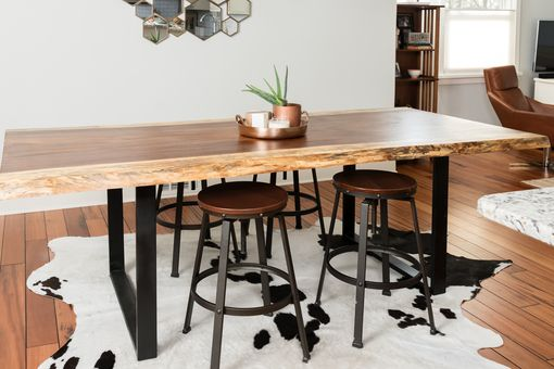 Custom Made Live Edge Acacia Dining/Conference Table