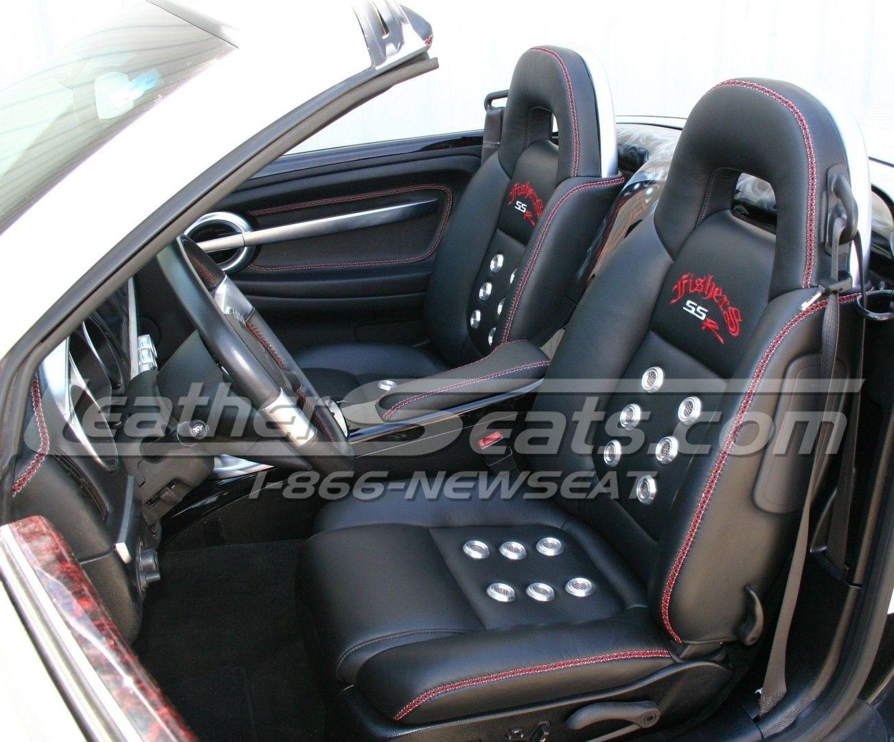 Hand Made Custom Chevrolet Ssr Italian Leather Interior By