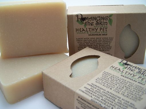Custom Made Natural Handmade Healthy Pet Lye Soap (Vegan & Gluten Free)
