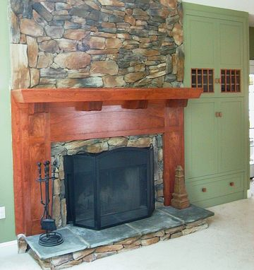 Custom Made Arts & Crafts Mantel