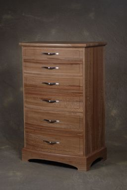 Custom Made Quartersawn Sycamore Chest Of Drawers
