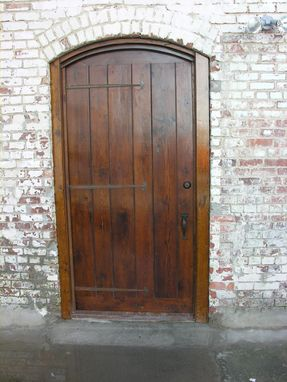 Custom Made Impressive Old World Country Door