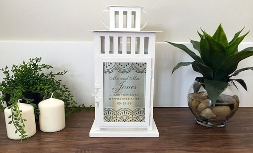 Custom Made Personalized Candle Lanterns
