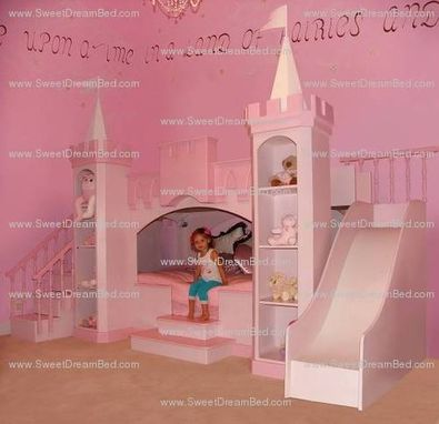 Custom Made Amazing Girls Princess Castle Theme Room