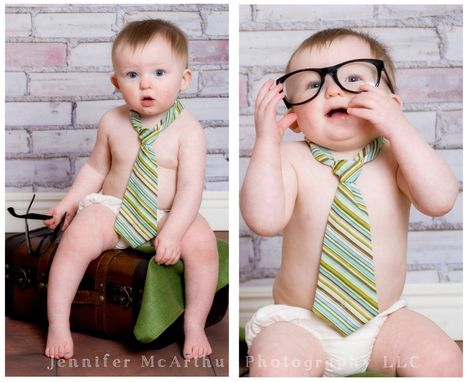 Custom Made Little Guy Neck Tie, Age Nb - 3 Yrs. Variety Of Colors. Cake Smash Tie, 1st Birthday.