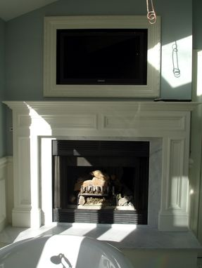 Custom Made Fire Place Mantle