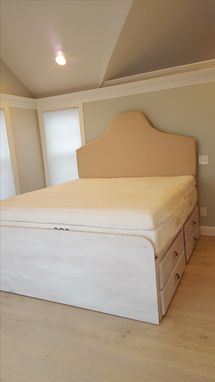 Custom Made Bed With Storage