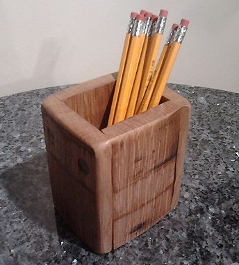 Custom Made Desktop Pencil Holder