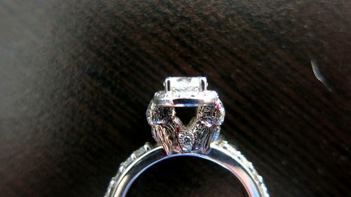 Custom Made Owl Halo Ring