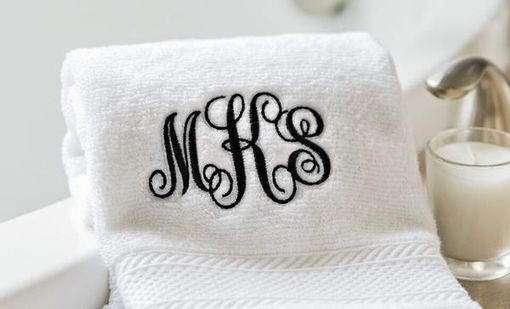 Custom Made Personalized Luxury Hand Towels