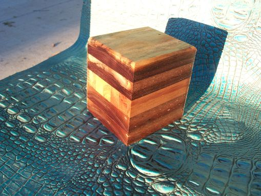 Custom Made Trinket Box In Repurposed Barn Wood