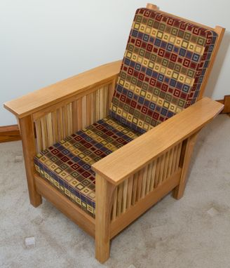 Custom Made Spindle Morris Chair