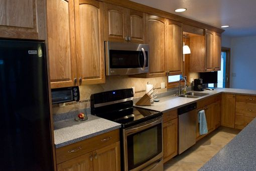 Custom Made Red Birch Kitchen Stark, Nh