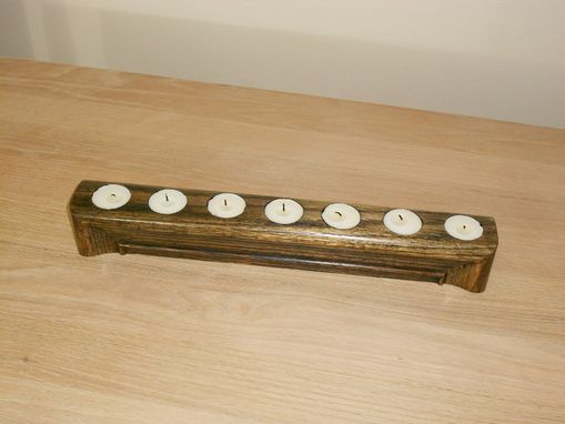 Custom Made 7 Tea Light Canle Holder