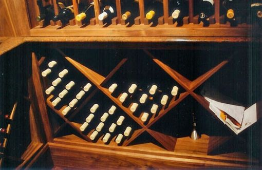 Custom Made Wine Cabinets