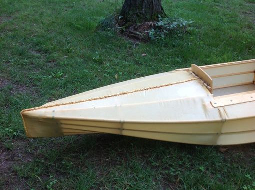 Custom Made Skin On Frame Wood Kayak With Polyester Skin.