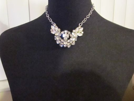 Custom Made Vintage Broach And Kramer Earring Necklace