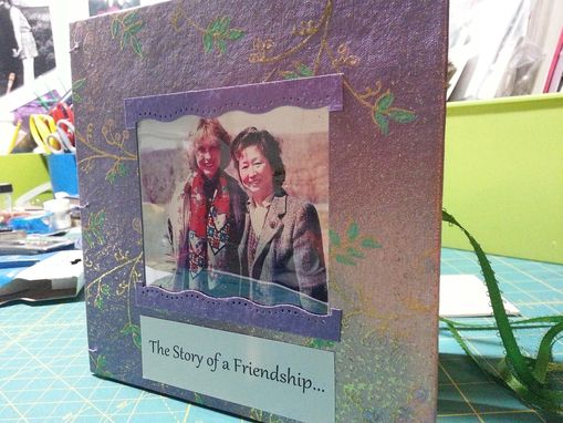 Custom Made Custom Book For Friendship Memory Story