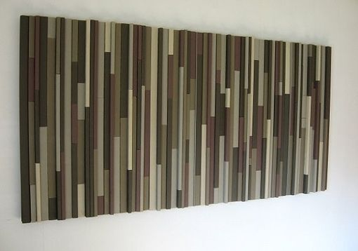 Custom Made Modern Wood Headboard