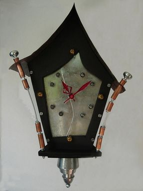 "Custom Made Black "" Cuckoo "" Clock"