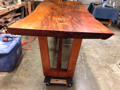 Custom Made Natural Live Edge Slab Tables