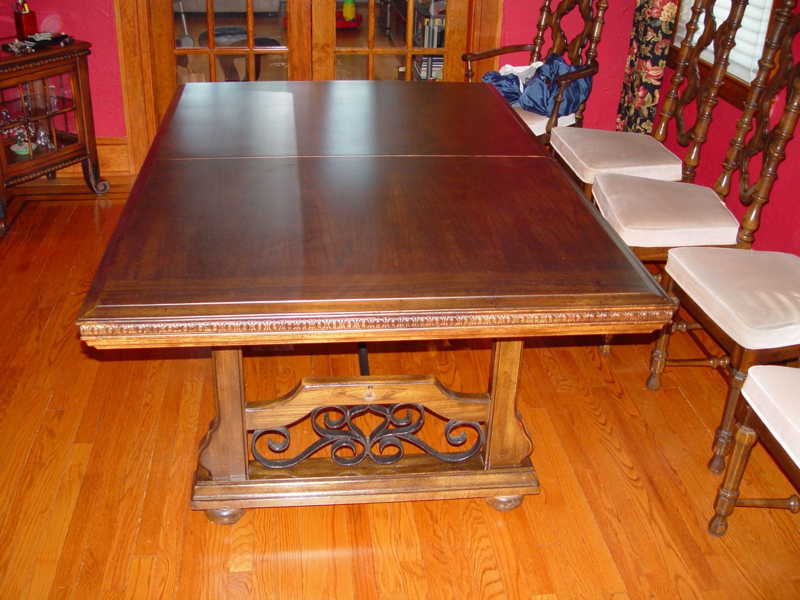Custom Refinish Dining Room Table By R J Hoppe Inc