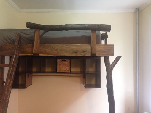 Custom Made Zen Loft Bed (Rustic Style)