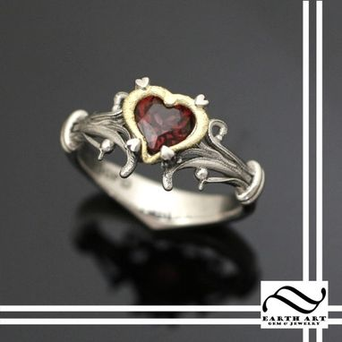 Custom Made Heart Container Ring