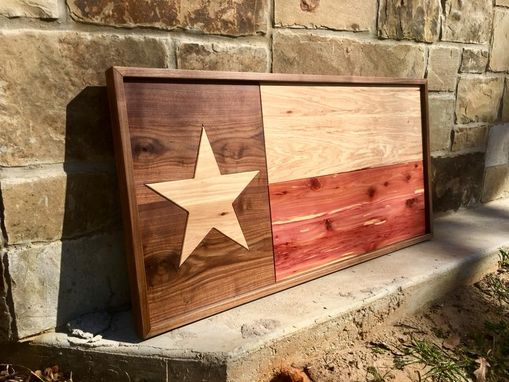 Custom Made Texas Flag