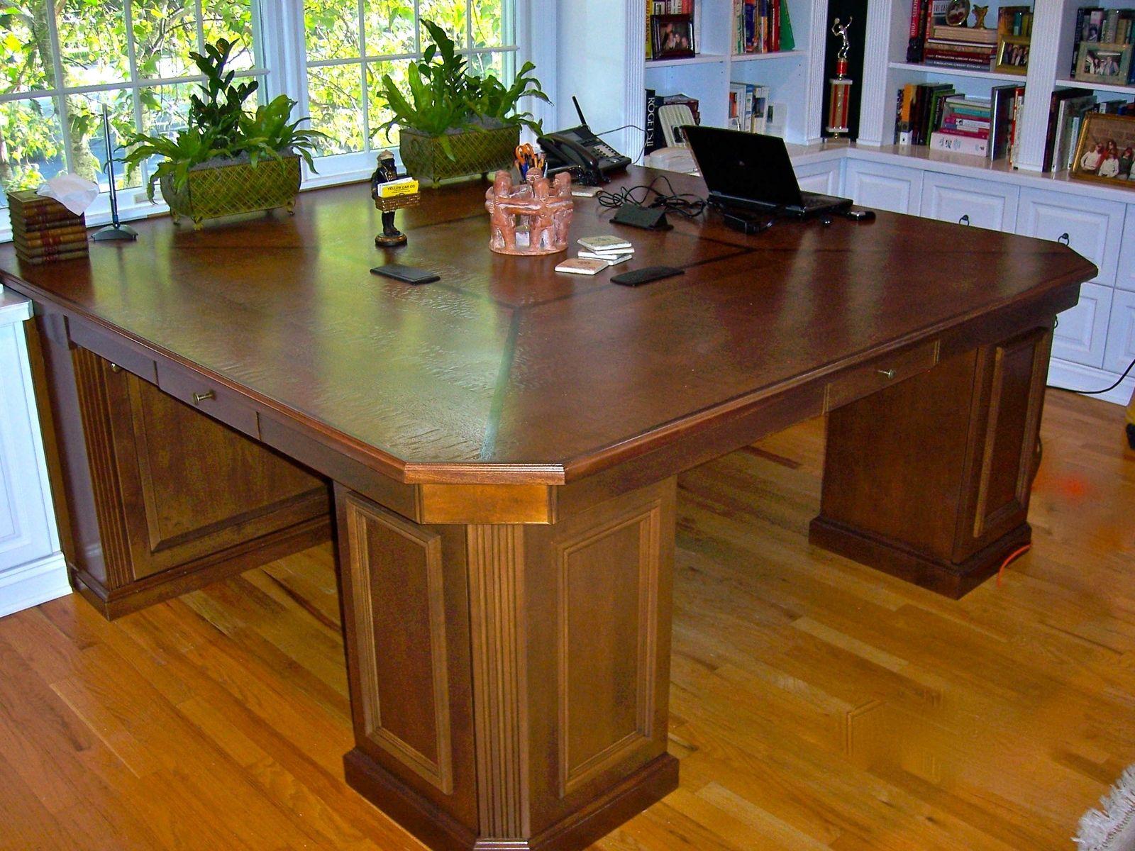 Custom Made 3 Person Desk