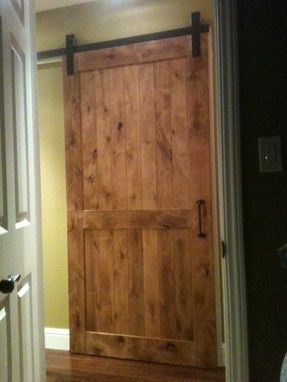 Custom Made Custom Sliding Barn Wooden Door #8