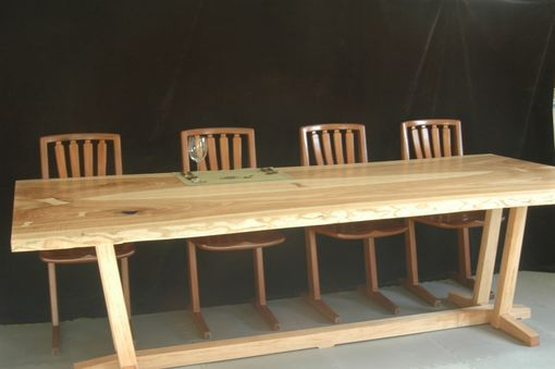Custom Made Large Ash  Table For 10-12