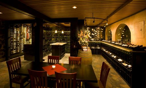 Custom Wine Cellar Restaurant By Tvs Wine Cellars Inc