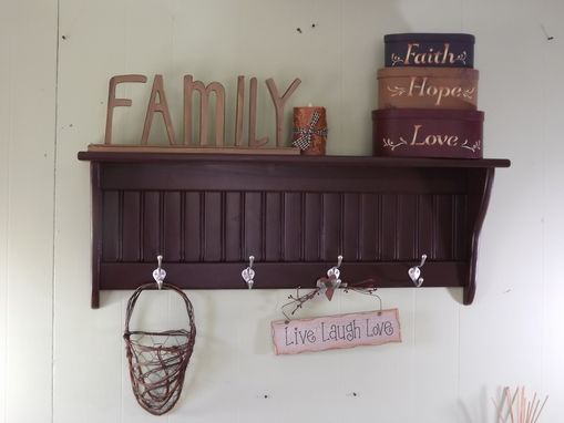 Custom Made Coat Racks And Wall Shelves