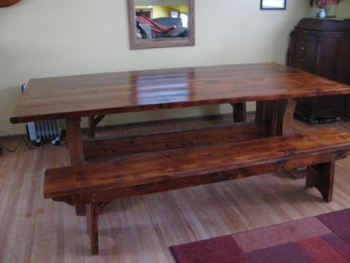 Custom Made Banquet Trestle Table