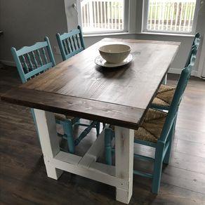 Farmhouse Kitchen Table farmhouse dining tables | custom farmhouse tables | custommade