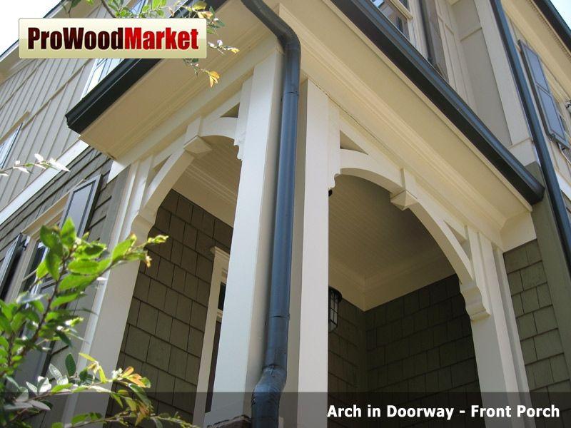 Handmade Front Porch Bracket By Pro Wood Market