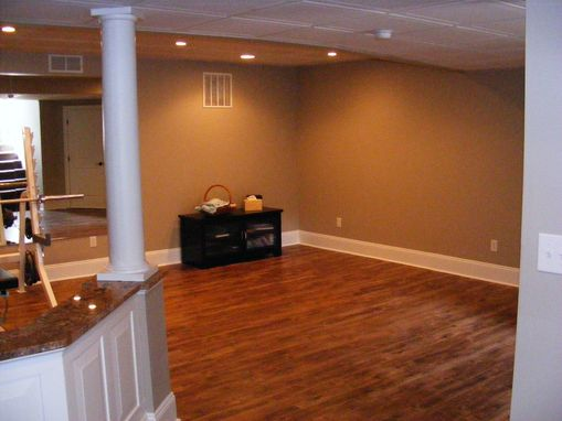 Custom Made Finished Basement