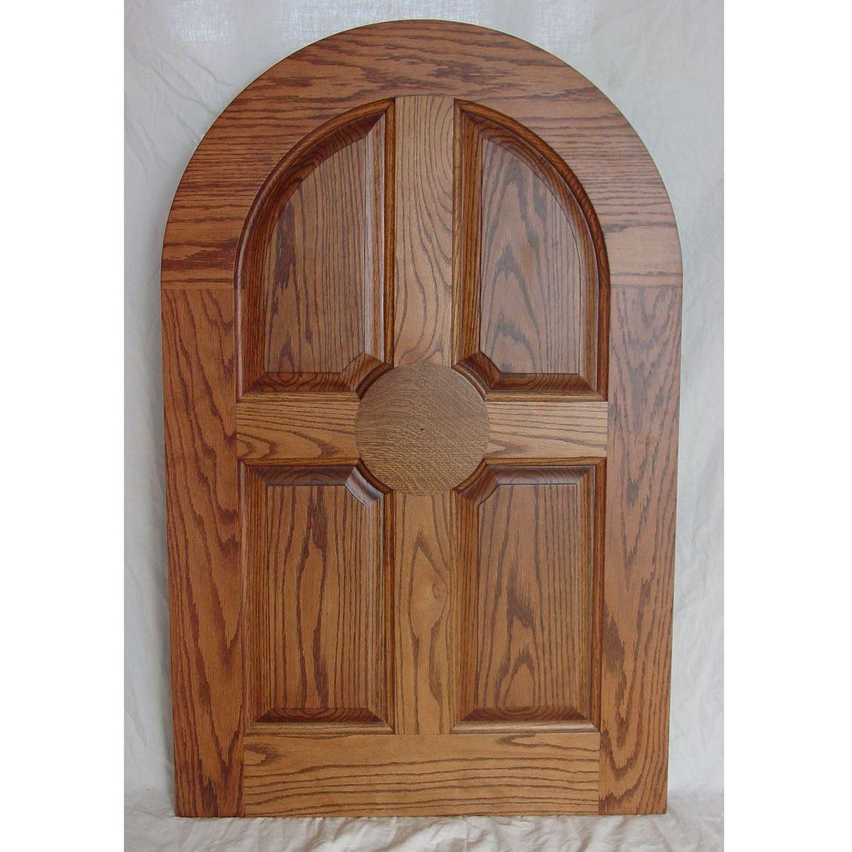 Top door round top doors mahogany arched exterior doors for Round door design