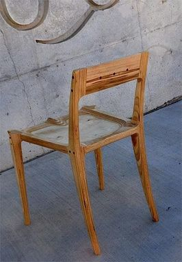Custom Made Baltic Birch Plywood Low-Back Chair